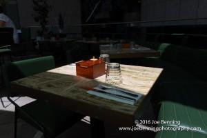 An outdoor Cafe in Sydney Australia