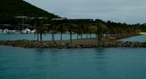Entry to the Hamilton Island marina