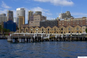 Restaurants and Buildings on Sydney Harbor