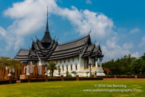 Replication of Pagoda in Ancient City of Bangkok