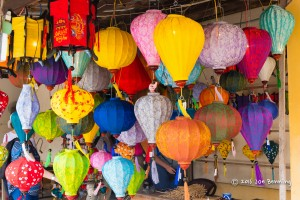 Chinese Lanterns for Sale in Hoi An's China Town