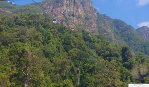 A Sky Ride to the top of Gunung Mat Chinchang