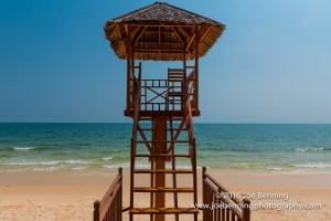 Life Guard Station, Sokha Beach Resort, Cambodia