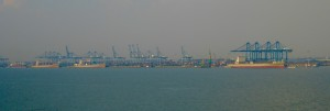 some of the cargo passing through the Strait of Malacca