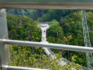 the sky walk near the cable car, in case you want to walk between mountains at 2300 feet high