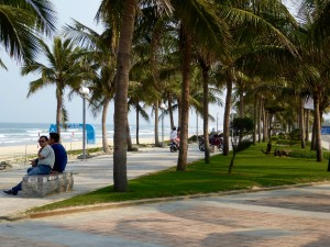 The Boulevard along China Beach (like Da Nang's version of Ocean Avenue in Spring Lake)