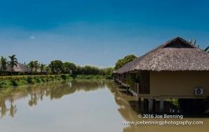 Resort along the Mekong River