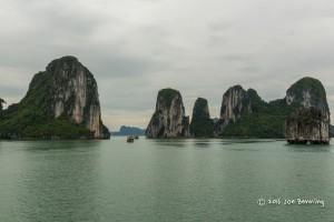Rock Formations of Ha Long Bay