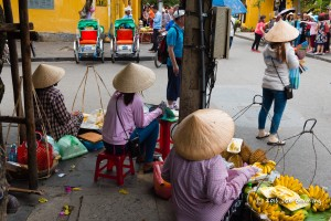 Street Corner Vendors  in Hoi An