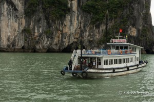 Vietnamese Junk on Ha Long Bay