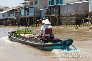 Vietnamese Junk on the River