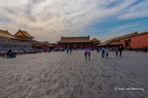 At the Top of the Forbidden City