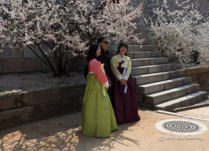 Korean Women in Native Dress