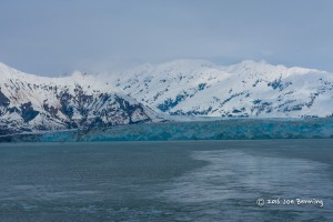Leaving Hubbard Bay Glacier