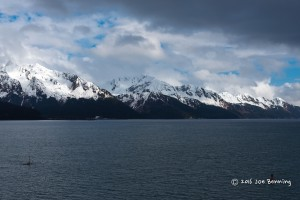 Outside Seward Harbor Early Evening