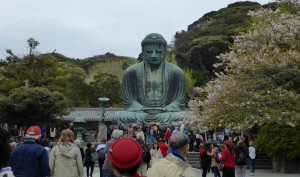 the Great Buddha himself, at Kamakura, Japan
