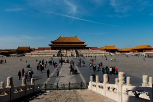 Temples inside the Forbidden City