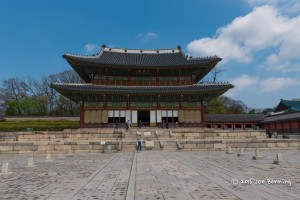 The Changdeokgung Palace in Seoul, Korea