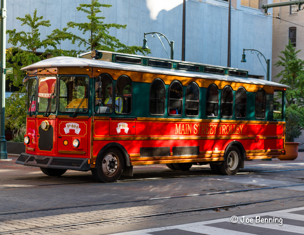 Trolley Car in Memphis, TN