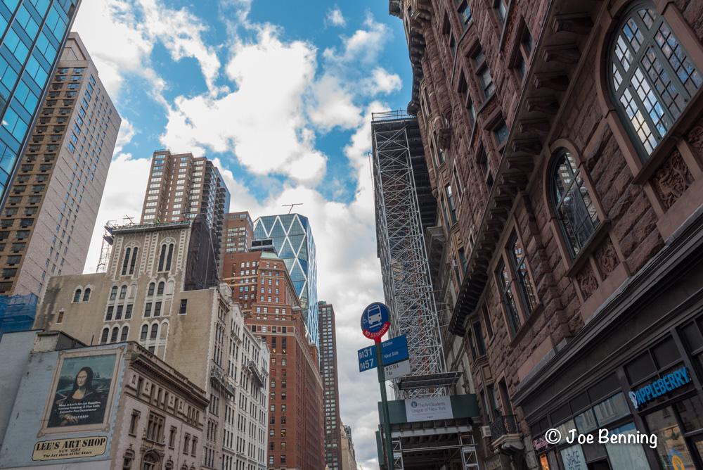 Midtown Manhattan during the Christmas Season
