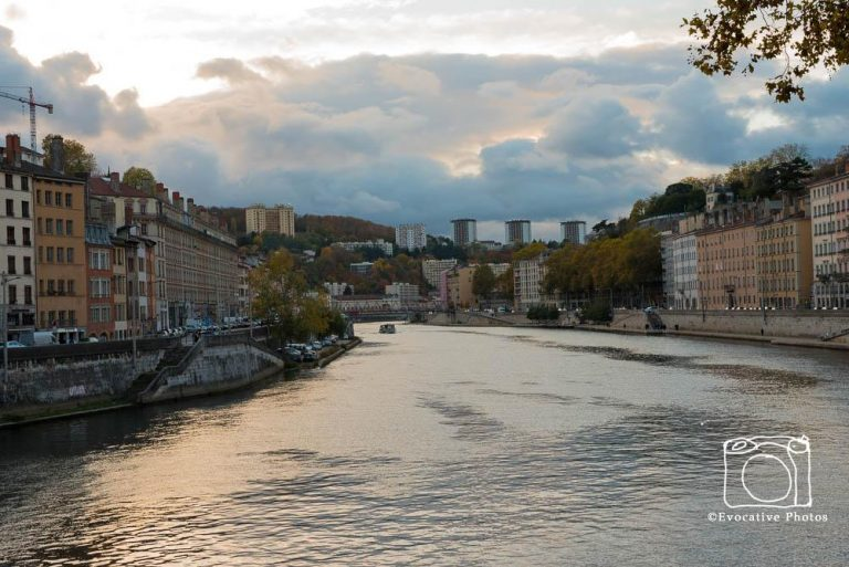 The Stone River in Lyon, France